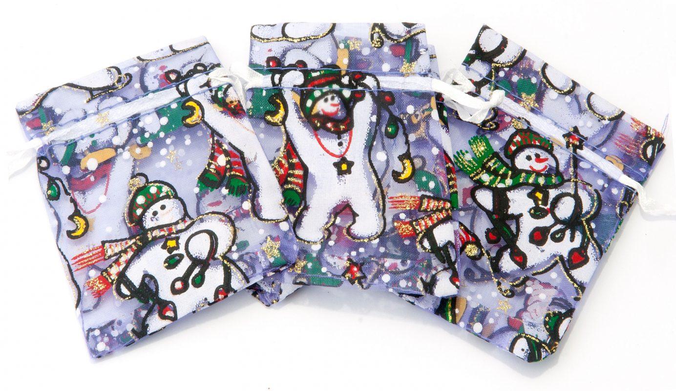 Kerst sneeuwpopjes