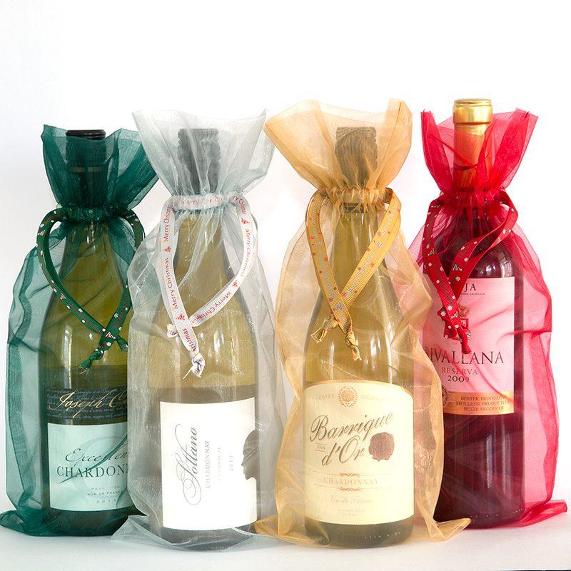 Organza flesverpakking