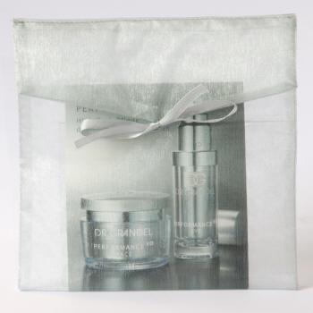 Organza envelop vierkant zilver