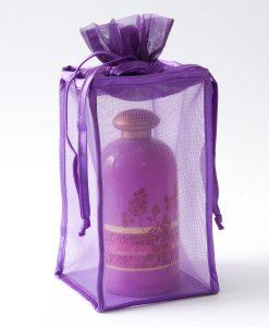 Organza verpakking met bodem type 101 paars