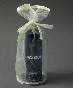 Organza flacon verpakking ivoor